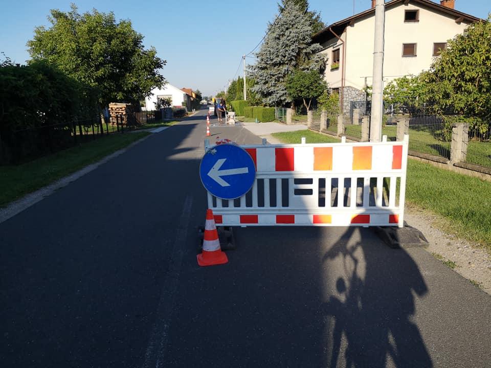 Za povečanje prometne varnosti in izboljšanje kvalitete življenja v Lipovcih...
